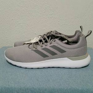 Adidas Lite Racer Grey Running Shoes Size 12 NWT